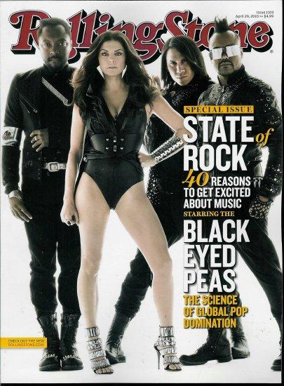 ROLLING STONE MAGAZINE APRIL 29, 2010 BLACK EYES PEAS