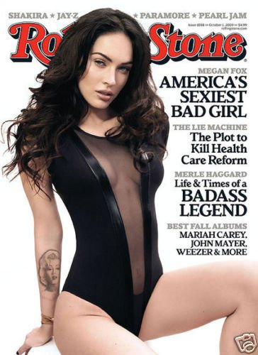 ROLLING STONE MAGAZINE OCTOBER 1, 2009 MEGAN FOX