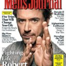 MEN'S JOURNAL MAGAZINE MAY 2010 ROBERT DOWNEY JR.