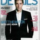 DETAILS MAGAZINE JANUARY / FEBRUARY 2009 MATTHEW FOX