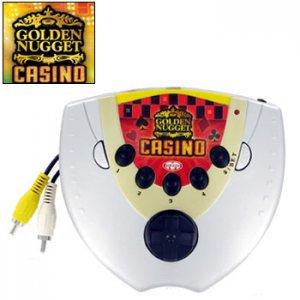 MAJESCO ® VGS200 GOLDEN NUGGET CASINO TV ARCADE VIDEO GAME VGS-200
