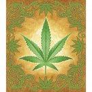 Sacred Herb Marijuana Luxury Blanket