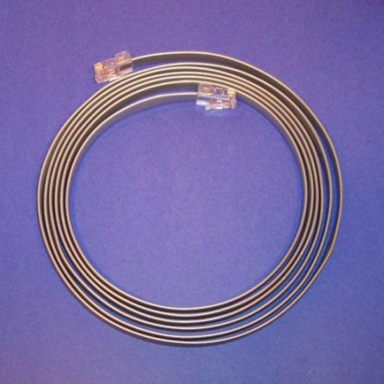 Flipped cable 8ft - Flat Satin 26awg 8conductor