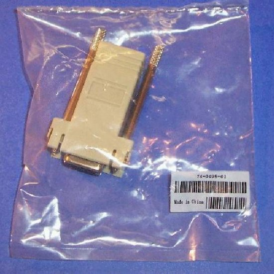 Cisco RJ45-DB9 Adapter Serial Console to PC.
