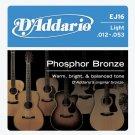 D'Addario EJ16 Phosphor Bronze Light Strings