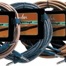 10 foot Tweed Fender Vintage Voltage cable