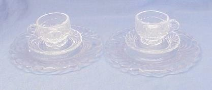 Child's Dinner Sets (2) Caprice in Crystal