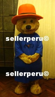 """NEW ADULT BEAR DELUXE COSTUME MASCOT 5' 9"""""""