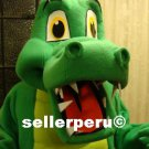 NEW ADULT ALLIGATOR LIZARD COSTUME DELUXE MASCOT up 5' 9""