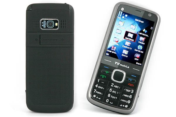 "2.6"" TF FM 4-Band 2-SIm Standby Mobile Phone P05-TV20"