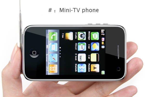 "2.6"" TV JAVA 4-Band 2-Sim Standby PDA Cellphone P05-A7"
