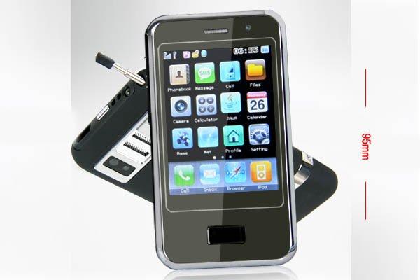 2GB TV Cellphone Video Camera 4-Band 2-Sim standby PB-N981