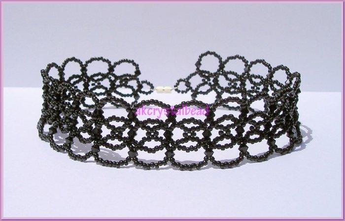 Swarovski Crystal Jewelry Choker Necklace # 1