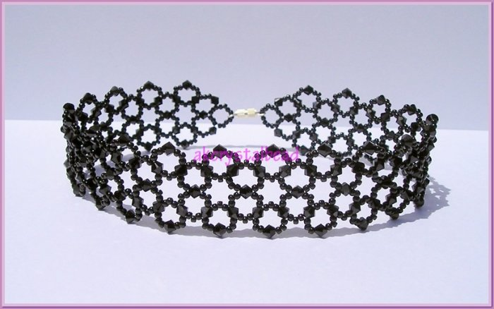 Swarovski Crystal Jewelry Choker Necklace # 2