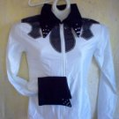 White/Black, Showmanship, Western Pleasure, Rail, Shirt
