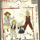 McCall's Sewing Pattern 5060 Jumping Beans Geni Pants Ruffle Skirt Jacket 3-5