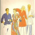 Butterick Sewing Pattern 4137 Robe Man Woman Unisex Tie Small 34-36 Chest Long