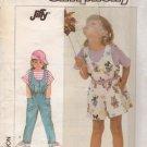 Simplicity Sewing Pattern 7926 Girls Jumpsuit Shortall Romper Uncut Size 2,3,4