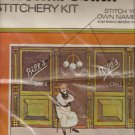 Vintage Vogart Crafts Embroidery Kit New Bar Grill Add Your Name Personalize