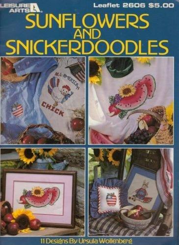 Sunflowers & Snickerdoodles Leisure Arts Leaflet #2606 Ursula Wollenberg 1994