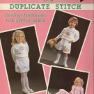 Alma Lynne Designs Duplicate Stitch Darling Duplicates for Little Girls PB 1991