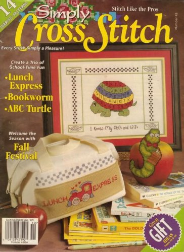 Simply Cross Stitch Magazine 14 Terrific Patterns No.43