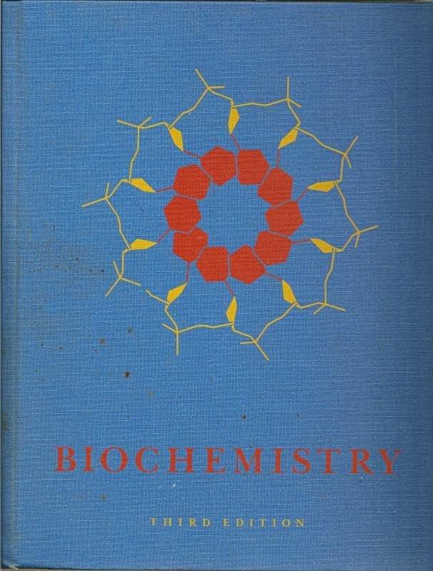 Biochemistry Lubert Stryer HC 1988 3rd edition Textbook