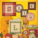 Kitchen Alphabet Leaflet 252 Rachel Crissinger 1983 Craft Cross Stitch