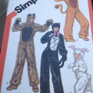 Simplicity Sewing Pattern 5739 Animal Costumes Halloween Rabbit 10-12 boy girl