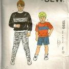 Kwik Sew Sewing Pattern 1999 Boys Shirts Shorts Pants 8-14 Kerstein Martensson