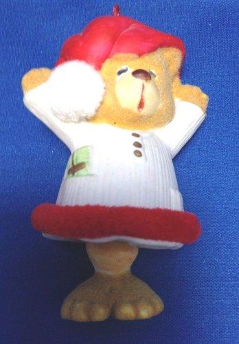 Christmas Jolly Jingles Collector Bell Ornament Bear Sleep Nightshirt 1986 Box