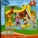 Disney Mickey Mouse Clubhouse Puzzle Lenticular New Gift Minny Pluto Goofy 24 p