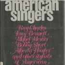 American Singers HC 1979 Ray Charles Tony Bennett Mercer