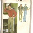 Simplicity Sewing Pattern 9124 Mens Western Shirt Pants Reversible Vest Size 40