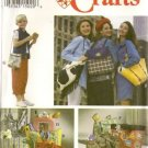 Simplicity Sewing Pattern 8852 Handbags Totes Purses Lunch Backpack Uncut Folded