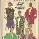 Simplicity Sewing Pattern 7698 Misses Cardigan Vest Jacket Size 10 12 14 Uncut