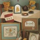 Country Cousins Leisure Arts leaflet #463 Bears Cross Stitch1986
