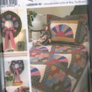 Simplicity 9234 Sewing Pattern Quilt Block Club Grandmothers Fan Bow Tie Uncut