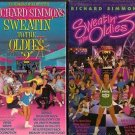 Lot of 2 Richard Simmons New Sealed VHS Tapes Sweatin ti the Oldies 2 and 3