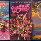 Lot of 3 Richard Simmons VHS Tape Sweatin ti the Oldies 2 Groovin House Classics