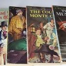 A Golden Picture Classic Lot of 5 Vintage Musketeers Sherlock Holmes Robin Hood