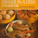 Betty Crocker's Dinner in a Dish Cookbook Spiral Hardcover  250 Recipes