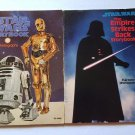 Star Wars 2 Story Books Empire Strikes Back Vintage 1978-80 PB Movie Pictures