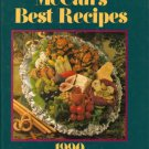 McCall's Best Recipes 1990 HC Cookbook