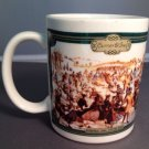 Currier and Ives Coffee Mug Cup Central Park Winter 1862 Art Painting Tea NY
