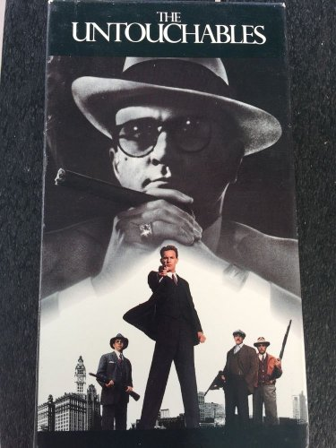 The Untouchables VHS Movie 1990 Chicago Prohibition