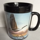 Thermo Serv Mug Canadian Goose Waterfowl Raedeke Art Vintage Collectible Hunt