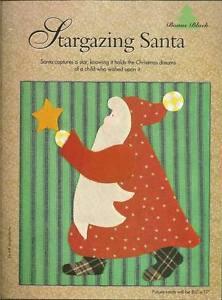 Stargazing Santa Pretty Poinsettia Craft Booklet Quilting Christmas