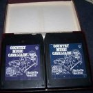 Country Music Cavalcade Nashville Graffiti Two 8 Track Tapes Box