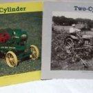 John Deere Two Cylinder Magazine Lot of 2 1995 1994 Waterloo Boy Tractor Farm